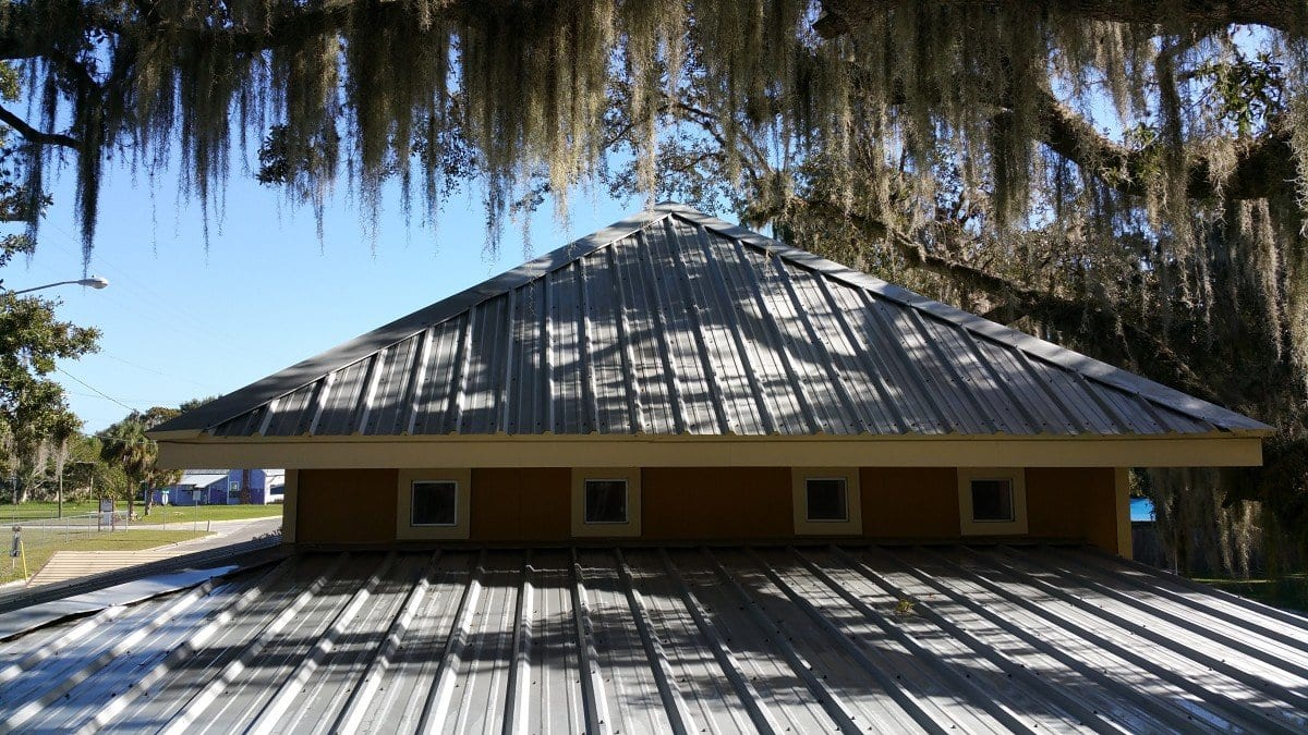 Metal Roof Cleaning After