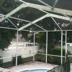 Pool Enclosure  Before