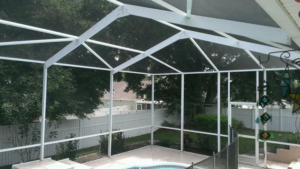 Pool Enclosure Cleaning Lightning Pressure Washing