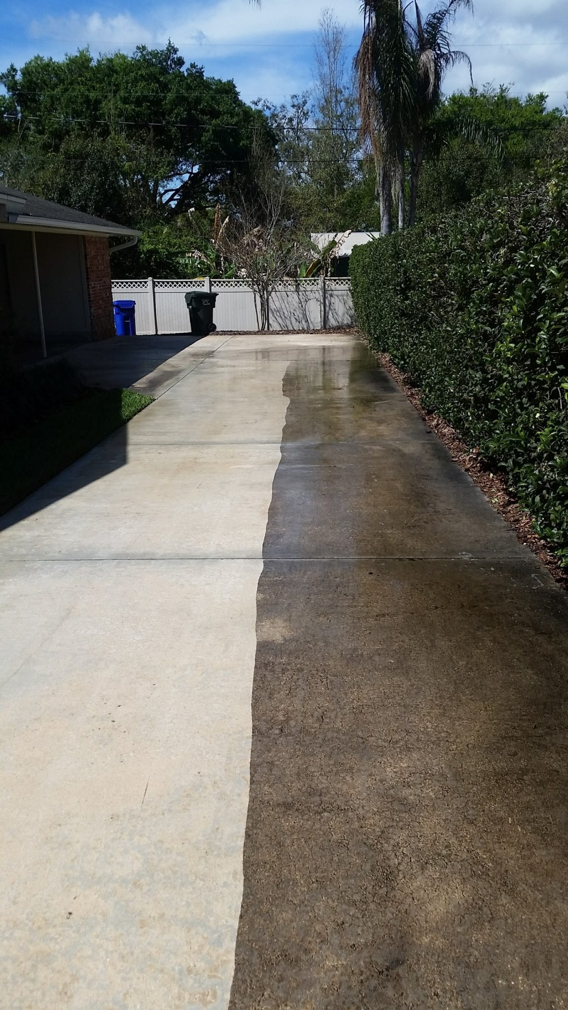 Driveway Cleaning Lightning Pressure Washing Lakeland
