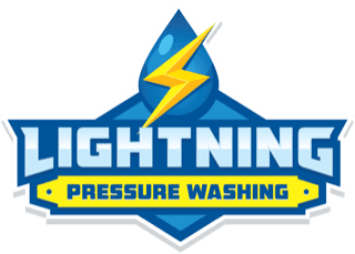 Lightning Pressure Washing Logo