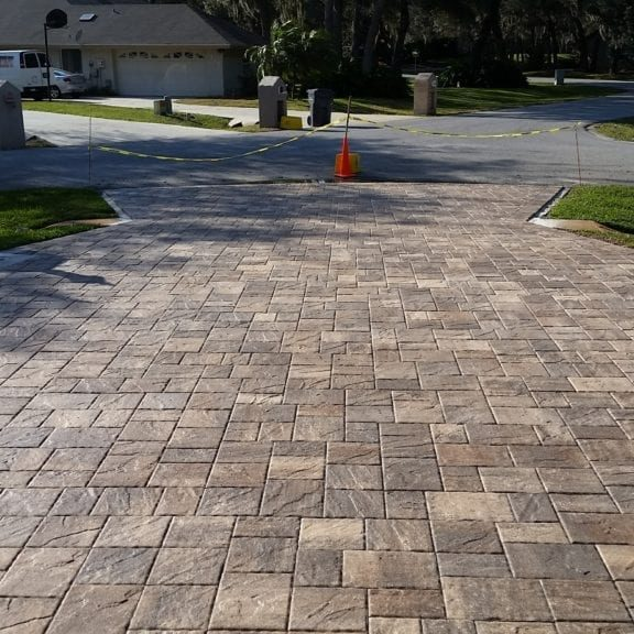 Residential Paver sealing and cleaning